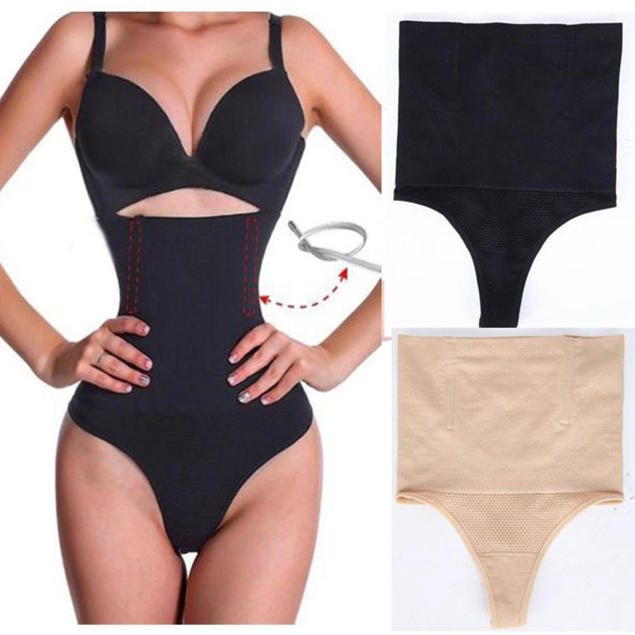 31134bbd3 2019 Women High Waist Panty Brief Body Shaper Tummy Control Belt Underwear  Shapewear Belly Girdle Slimming Thong Panties RRA967 From Ruby one