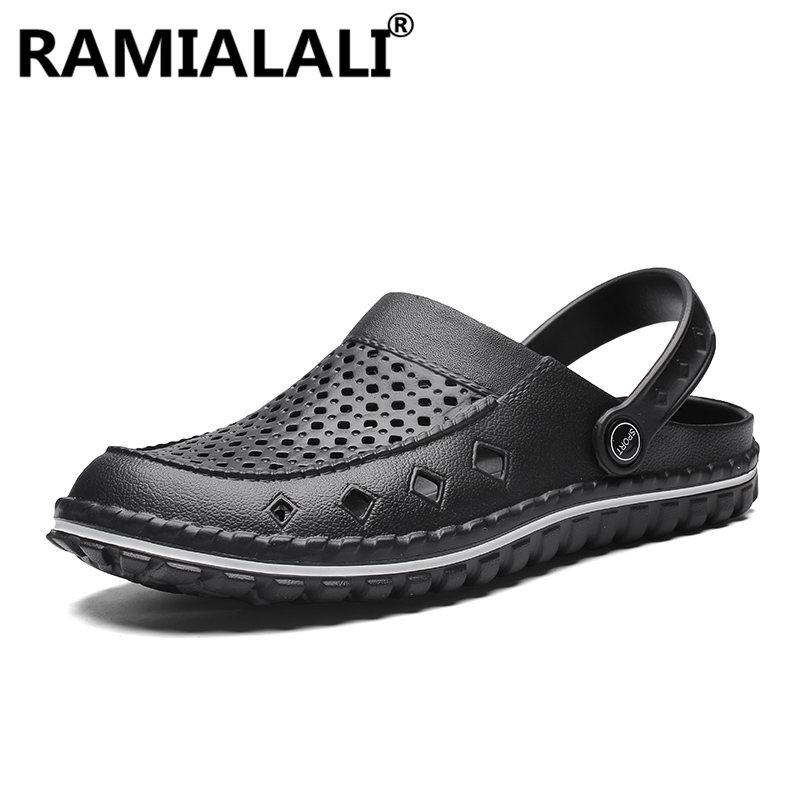 4334591840a8 Summer Fashion Men Sandals Hollow Beach Water Sandals Comfortable ...