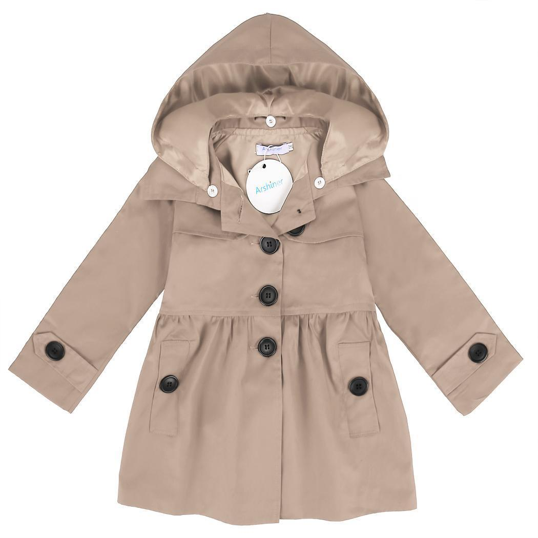 778b61dbec80 Coat Down Hat Neck Color Turn Girl Arshiner Nature Detachable ...