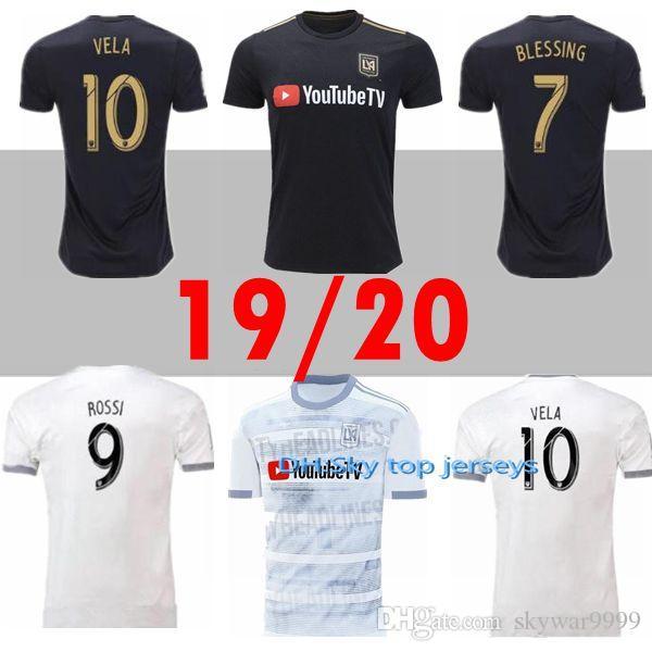e32eba4c7f0 2019 Size S XXL 2019 LAFC Carlos Vela Soccer Jerseys 2019 2020 MLS ...