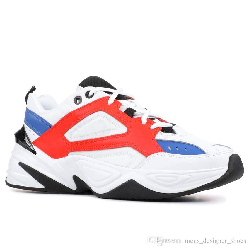 cómo comprar Códigos promocionales clásico Nike M2K Tekno Dad Sports Running Shoes For Men Mujeres de calidad superior  Diseñador de moda Zapatillas Zapatillas de deporte de diseño zapatillas ...