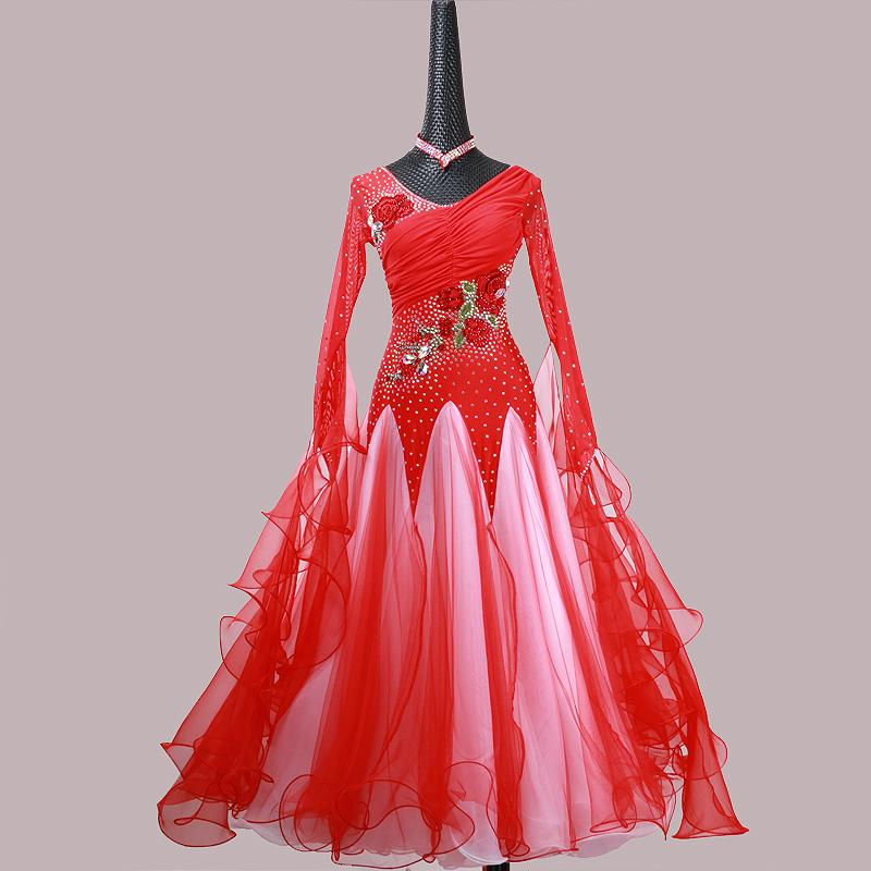 74a7b773c 2019 Ballroom Dance Dress For Women High Quality Competition Dresses ...