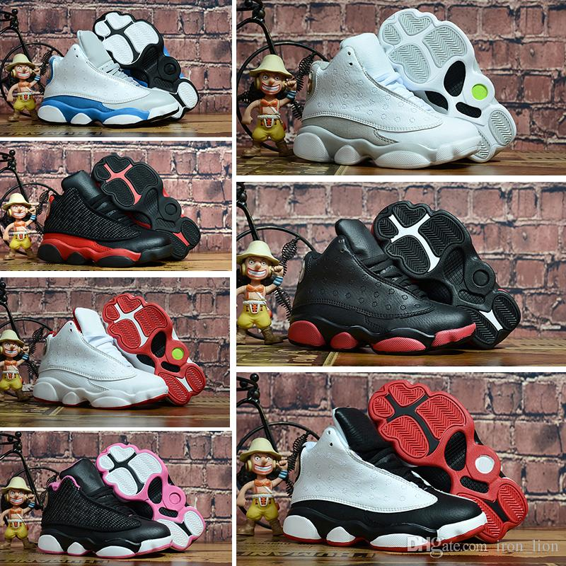 online store c3b9e e6088 Großhandel Nike Air Jordan 13 Retro Heiße Neue 13 Kinder Basketball Schuhe  Kinder 13 S Hohe Qualität Sportschuhe Jugend Junge Mädchen Basketball  Turnschuhe ...