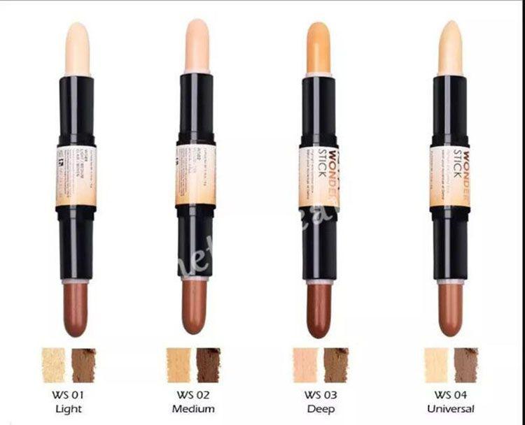 06a5459ce4f Hot NYX Wonder Stick Highlights And Contours Shade Stick Light Medium Deep  Universal Face Foundation Makeup Concealer Pen Free Ship Dark Spot Elf  Cosmetic ...
