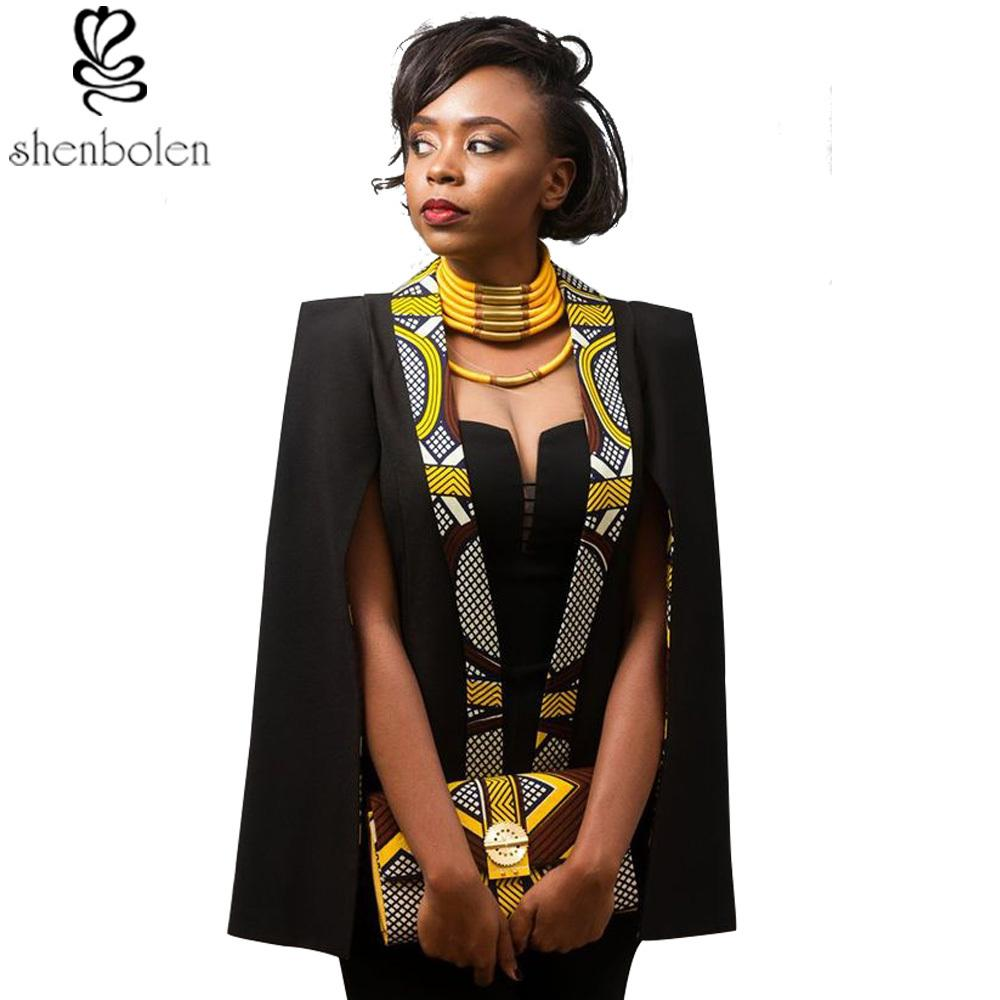 42818152553 2019 2018 Spring Autumn African Coat For Women Temperament And Bead Piece  Of Leisure Garments In The Fashion Cape Coat Y18110701 From Zhengrui06