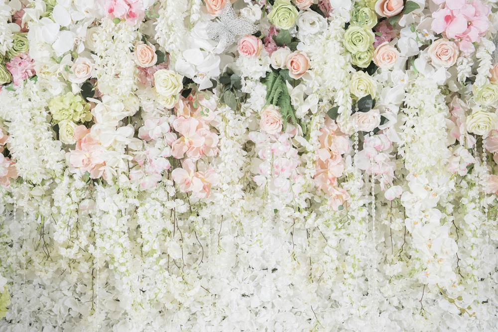 2019 Wedding Backgrounds Blossom Flower Ceremony Wall Baby