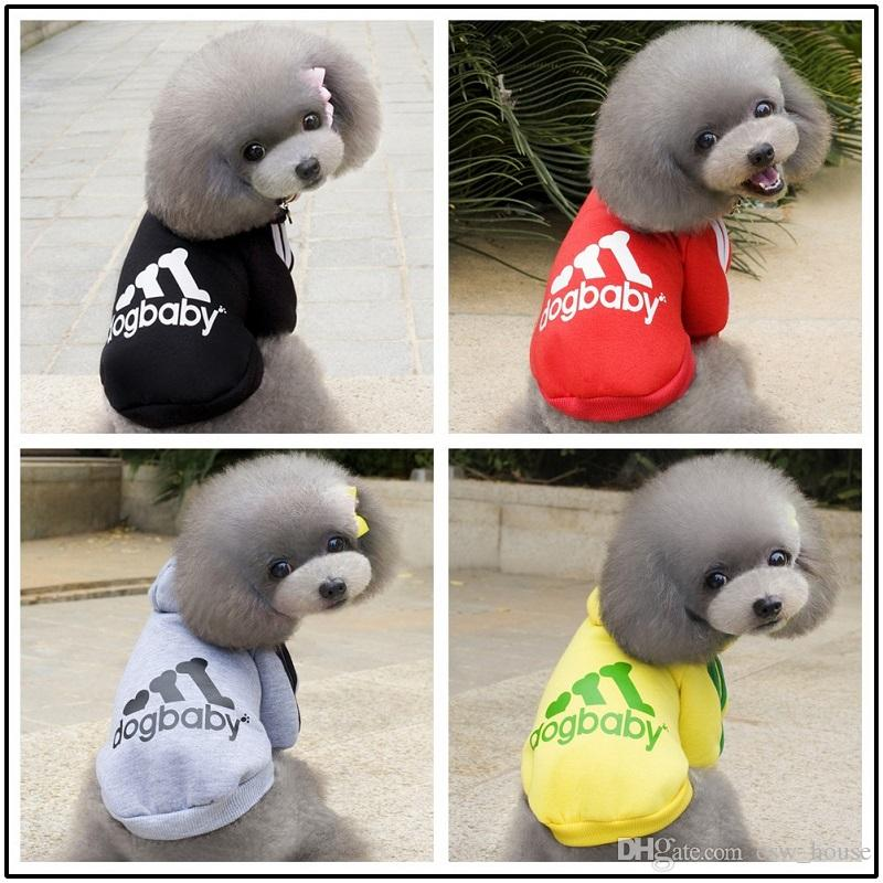 Dog Apparel Products Dog Vest Pet Sweater Winter Coat Jacket Pets Cotton Clothes Puppy Pet Costume Cat Clothing