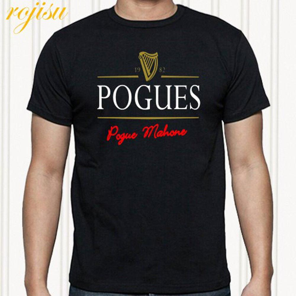 THE POGUES Pogue Mahone Punk Rock Band Men'S Black T Shirt Size S To 3XL The Following T Shirts This T Shirt From Boystshirts55, $11.63| DHgate.Com