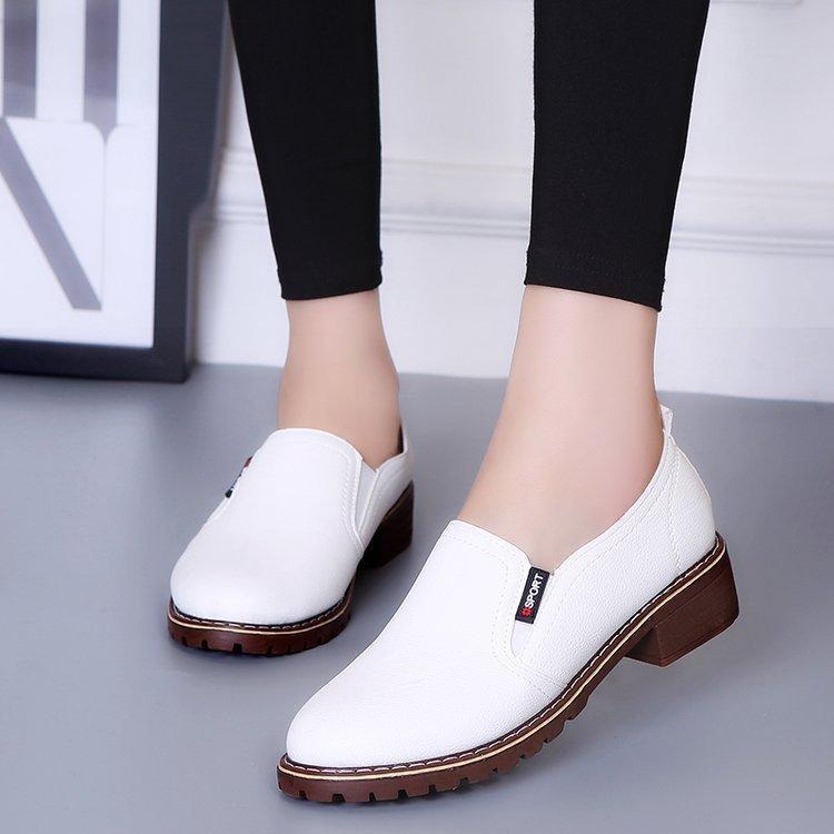 4a222c8b0c2 Compre Zapatos De Mujer Zapato Inglés De Primavera Para Mujer Zapatos De  Damas Para Damas Y Damas Casuales. A  28.53 Del Deals999