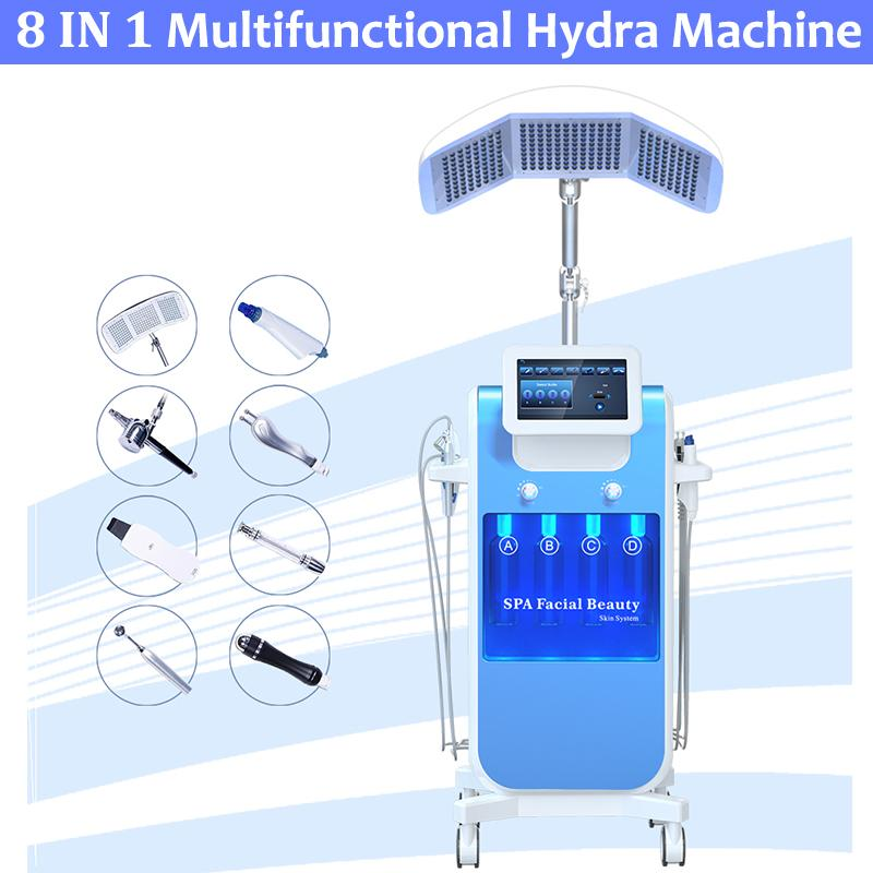 SPA Hydrafacial Machine Facial Dermabrasion Skin Resurfacing Hydrofacial Face Clean Treatment BIO Microcurrent Hydra Microdermabrasion