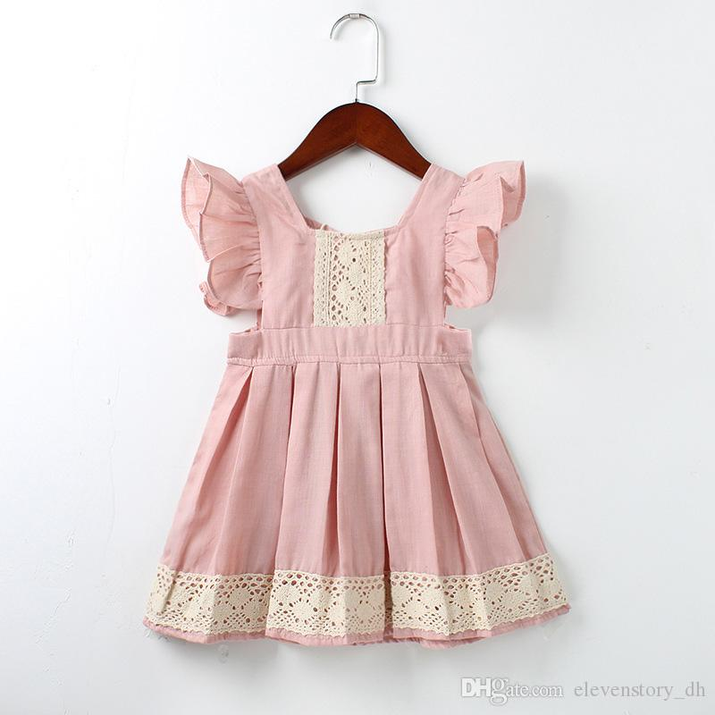 58058da062aaf 1 to 5 years baby lace dress for Girls summer clothing, children kids tutu  Sleeveless wedding/party boutique clothes, 2AA610DS61, Wholesale