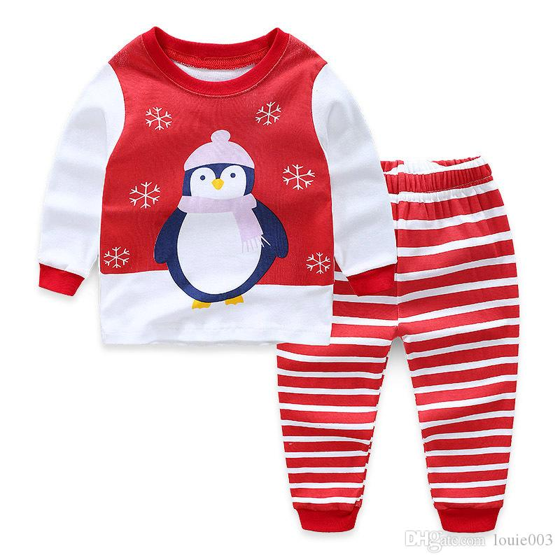 702e6cae4 Kids Pajamas Set Child Clothes Sets Girl Boys Clothes Pajamas Baby ...