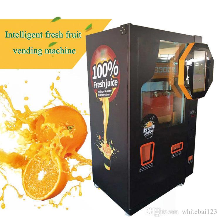 Factory Direct Selling Raw Juice Machine Can Customize Automatic Fresh Pressed Orange Juice Vending Machine Angel Orange Vending Machine