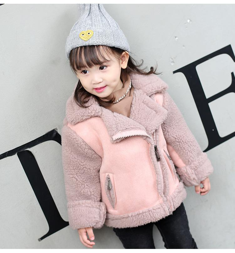 47d347e423b2 Fashion Children Kids Jackets Coats Clothing Cotton 2018 Warm Autumn ...