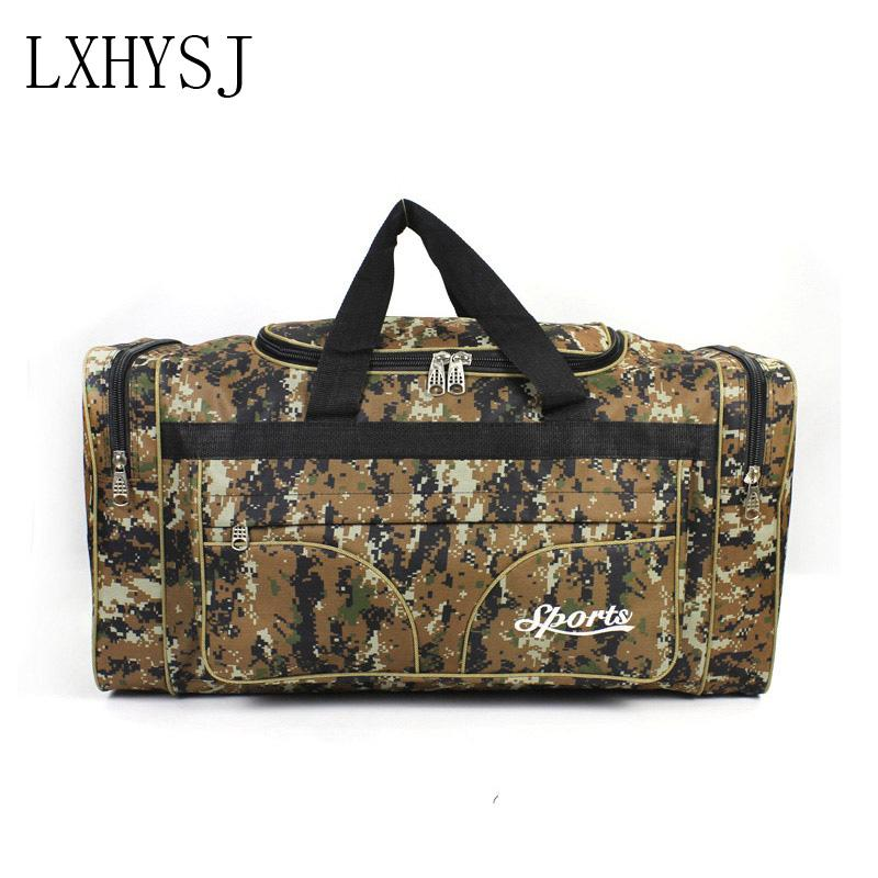 a090f7e00e18 Waterproof Oxford Cloth Men Travel Bags Carry On Luggage Bags Men Duffel  Bag Travel High Capacity Tote Large Weekend Bag Toiletry Bags Best Gym Bags  From ...