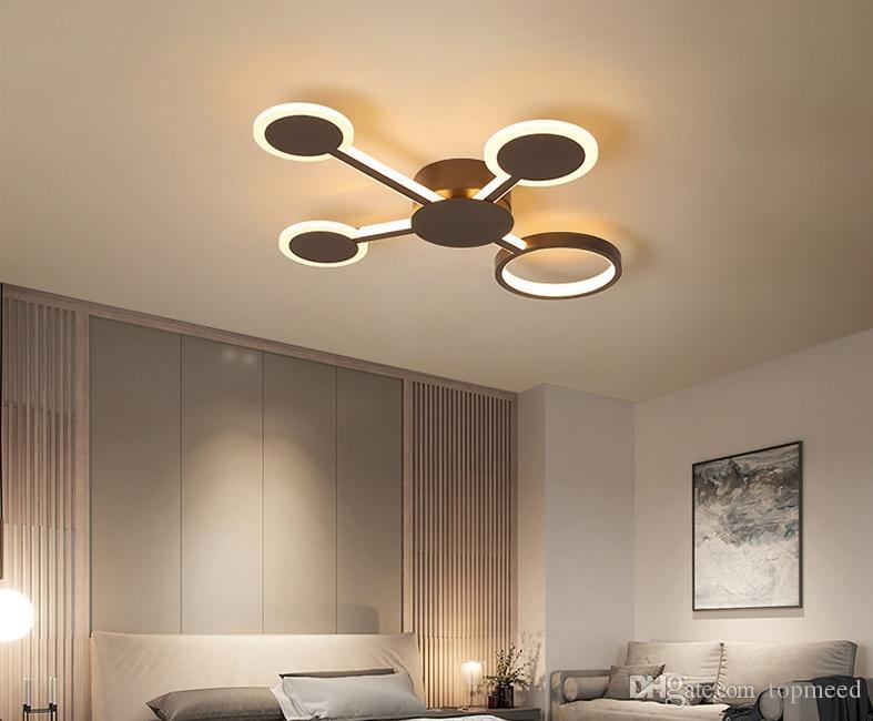 Plafoniere Interne Per Camper : Acquista nuovo design moderno plafoniere a led soggiorno