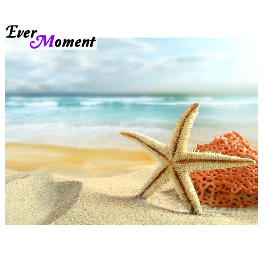 Satın Al Toptan Elmas Boyama Denizyıldızı Deniz çapraz Dikiş Tam