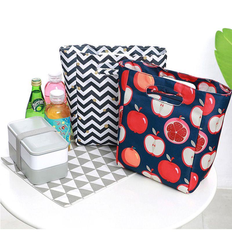 5L Leakproof Stylish Printing Lunch Bag Thermal Picnic Tote Handbag Cans  Holder School Lunch Cool Bag For Kid Cooler Handbag Sale Handbag Brands  From ... 9132c3119b06