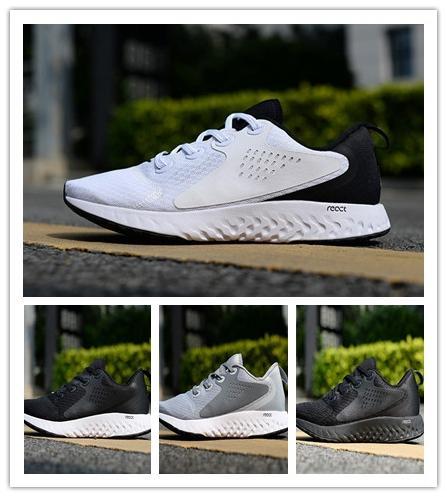 94baf23d7b Acheter Epic Legend React 4.0 Hommes Chaussures De Course De Luxe En Plein  Air Sport Chaussures De Sport Formateurs Femmes Mens Designer Chaussures  Sneakers ...
