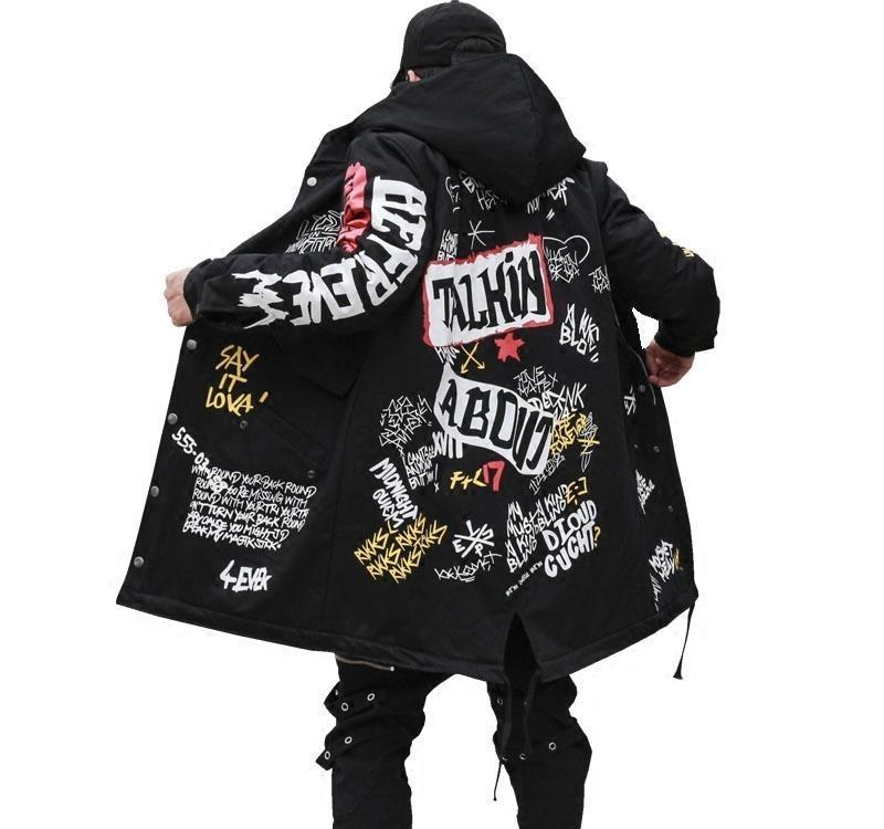 Autumn Jacket Ma1 Bomber Coat China Have Hip Hop Star Swag Tyga Outerwear Coats Us Size Xs-XL Y18103002