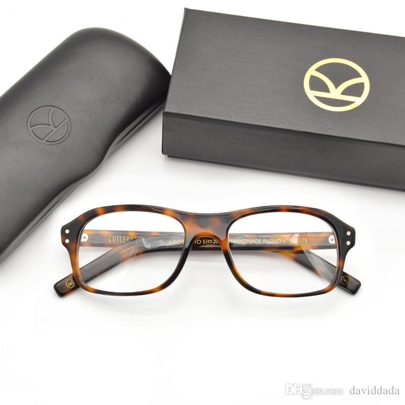 d754a6737c 2019 Kingsman Glasses Frames Men For Colin Firth Reading Glasses With  Acetate Handcrafted Eyeglasses Frame From Daviddada