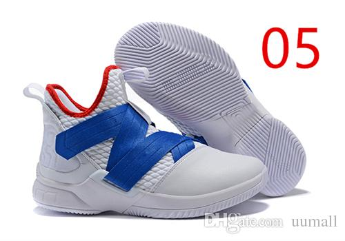 e75cd8d65df Cheap 2019 HOT SALE Brand Top Quality 12 Zero Dark Thirty Soldier XII for Playoffs  Basketball Shoes XII Witness Soldier 12 Sports Sneakers Uumall