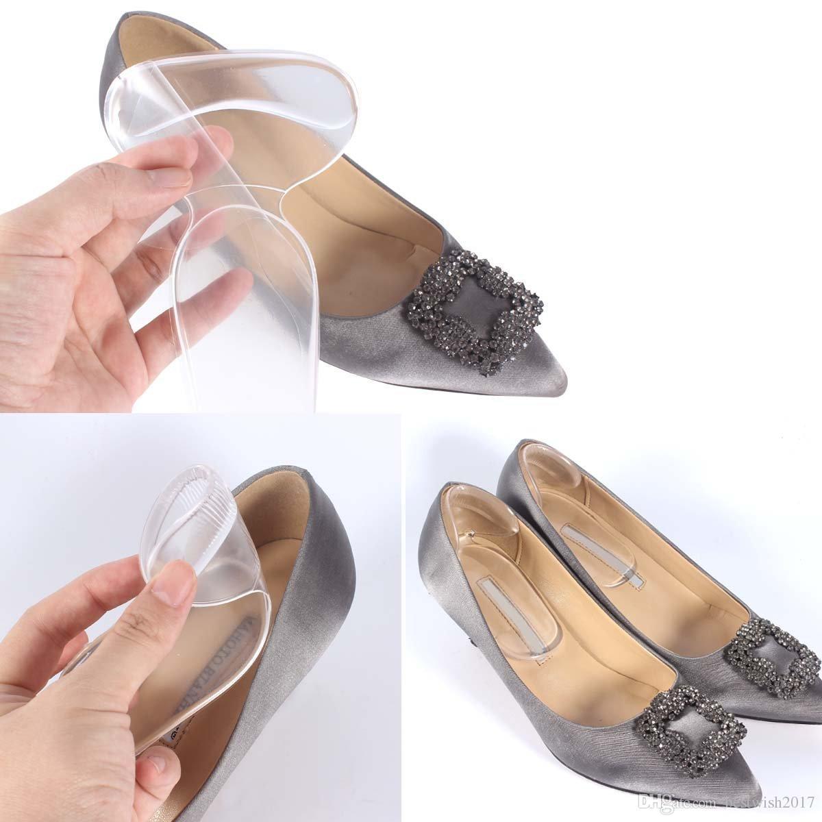 sports shoes 89c34 bc703 Pattini per scarpe - Impugnature sul tallone, Inserti per cuscinetti sul  tallone, Migliora scarpe, Rivestimenti per talloni in gel, Snugs per le  donne ...