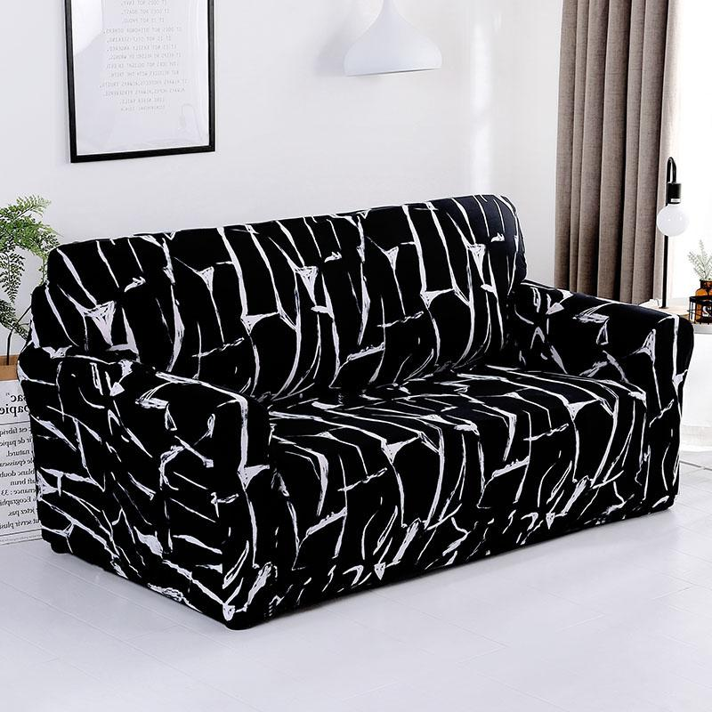 Modern Elastic Stretch Sofa Covers for Living Room Sofa Couch Slipcovers  1/2/3/4 Seater Sectional Covers housse de canap