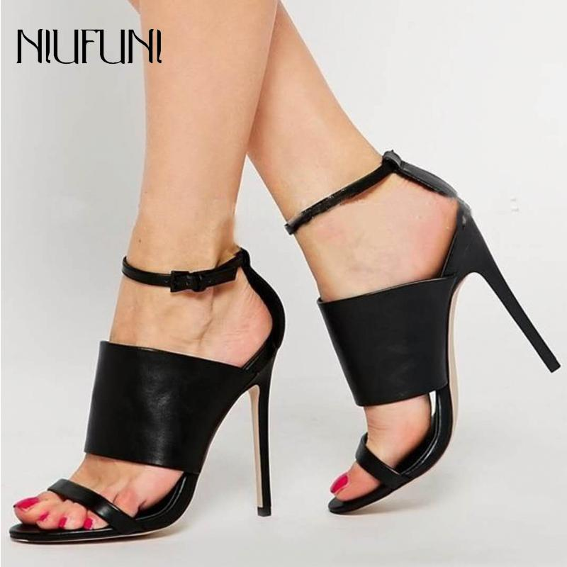 Sexy Gladiator Woman Sandals Summer Women Open Toe Stilettos High Heels  Shoes Ladies Party Sandals Black Fashion Dress Shoes Online with   65.76 Piece on ... 661763b52db4