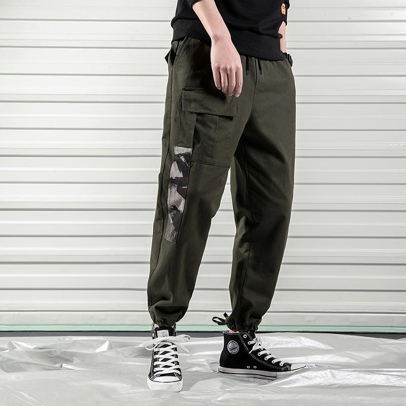 Compre 2019 Primavera Harem Streetwear Pantalones Moda Hombre Hiphop Pantalones  Para Hombre Pantalones Largos Y Holgados Pantalones Hombres Pantalones Para  ... 4c19de1d3a84