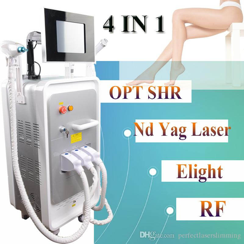 IPL LASER Maschine OPT SHR Haarentfernung Beauty Equipment Elight RF Hautpflege Q Switched Nd Yag Laser