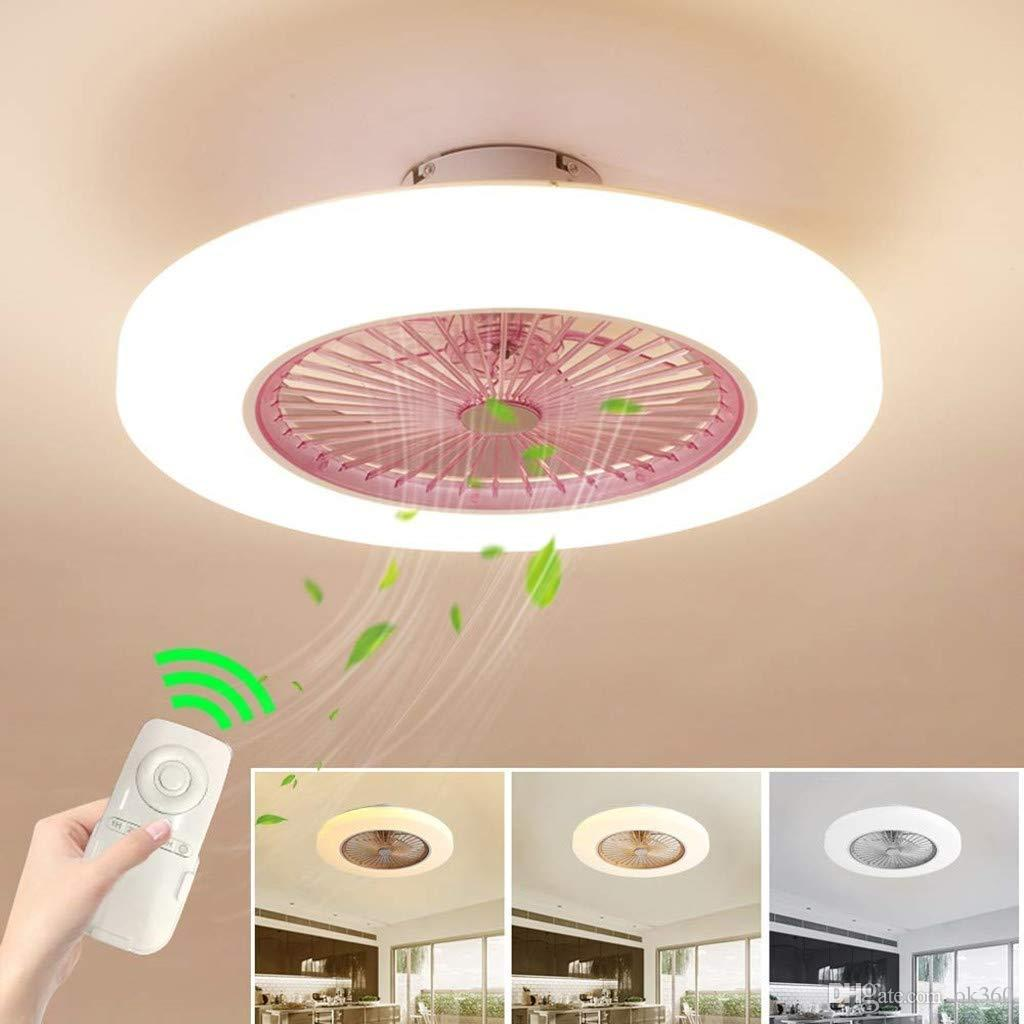 Modern LED Ceiling Fan Light Wind Speed Quietly Ceiling Fan Kids Bedroom Living Room Dimmable lamp with Remote Control Home Lighting