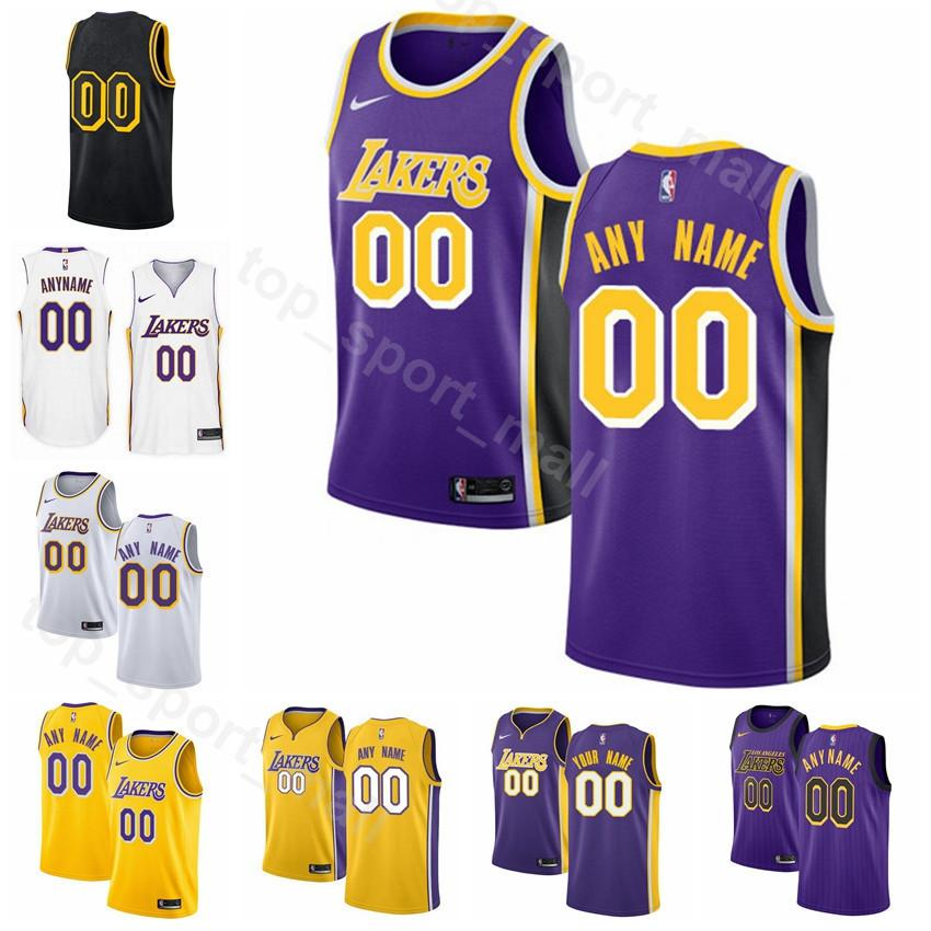 huge discount 7a452 1fdec Printed Men Youth Women Los Angeles Basketball Reggie Bullock Jersey  Kentavious Caldwell-Pope JaVale McGee Josh Hart Stephenson