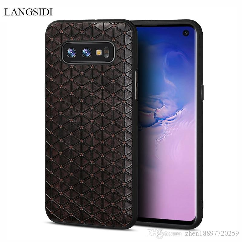 Ultra-thin phone case for Samsung Galaxy S8 S8plus S9 S9 plus Note 8 Non-slip Business individuality texture protective case
