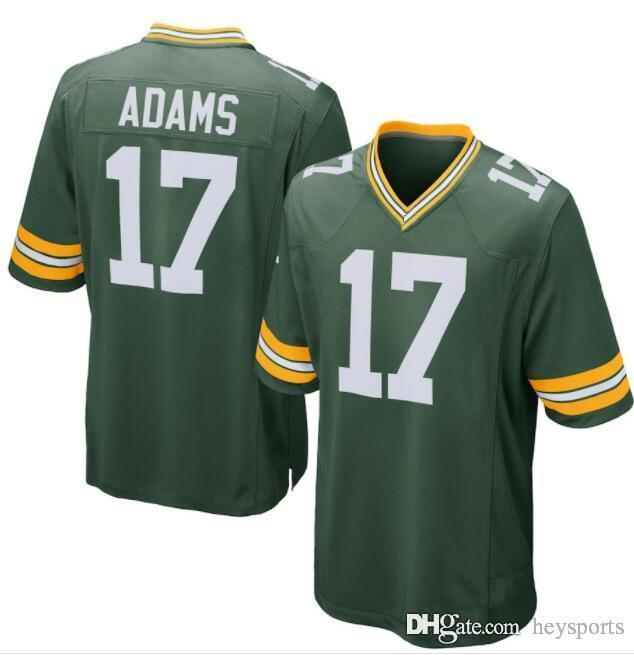 6f6dd5618e3 Packers 17 Davante Adams Jersey Green Bay Packers 12 Rodgers 23 Alexander  80 Jimmy Graham 52 Clay Matthews 7 Hundley Jerseys Stitched Logos Cheap  Sales Top ...