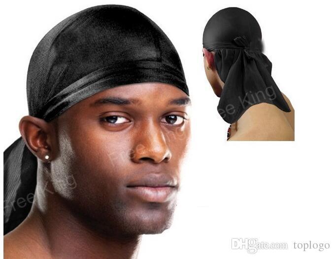 Compre DJ Bandana Durag DU RAG Gorras Satin Noir Hip Hop Rap Gorra Do Rag  Sports Unisex Head Headff Hombres Cabeza Bufanda Bailarina DJ Street  Bufanda A ... 1beb23a0c2b