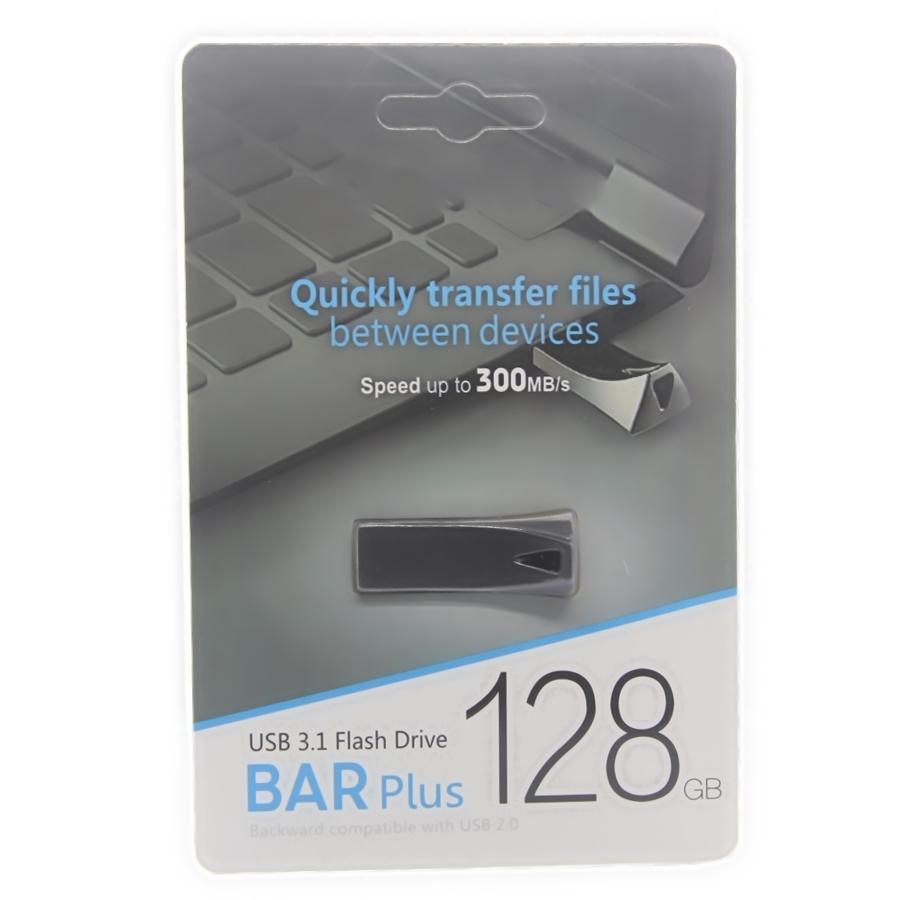 2020 Горячий продавать Metal Bar Plus USB Flash Drive 32GB 64GB 128GB Memory Stick USB 3.0-2.0 U дисководы PC 30шт