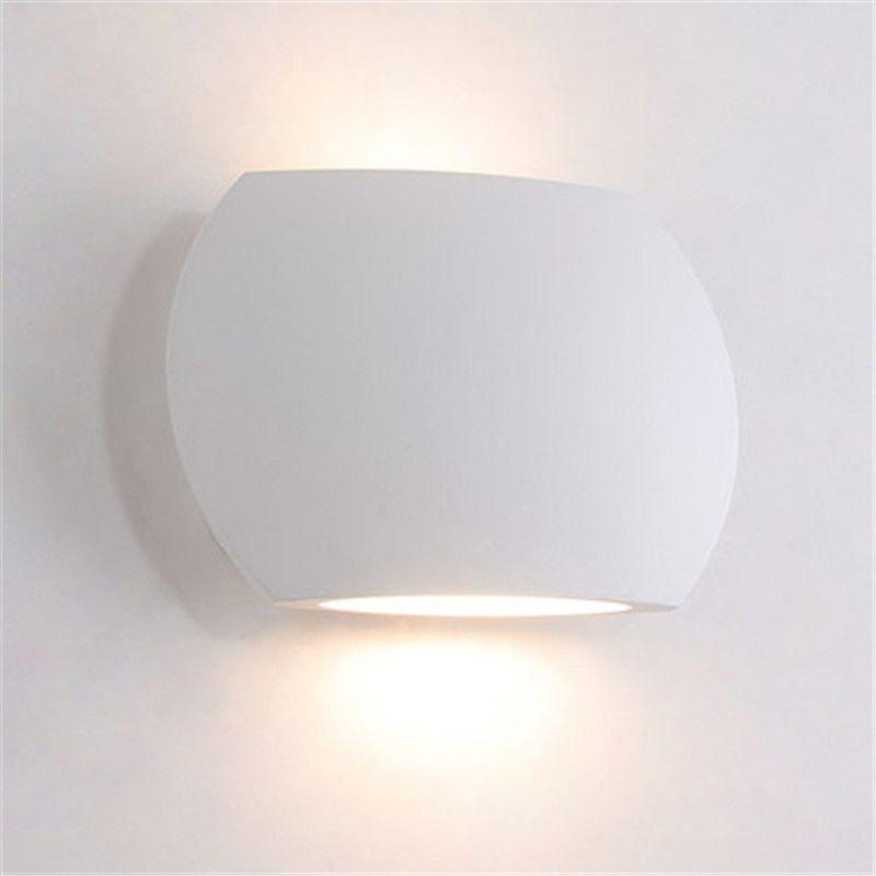 Estilo Iluminación Lámparas Dormitorio Aplique Nórdico Led Lámpara Creativo Mini De Pared Jess Blanca Noche Simple Moderno JclTF5u3K1