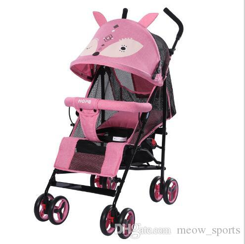 baby carriage Light folding trolley Children's hands with reclining and sitting shock absorbers wheelbarrow Ultra-light portable baby carri