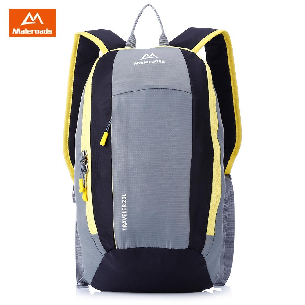 8b47aece01 2019 Maleroads Mini Adult Sport Backpack Shoulder Bag Ultralight For  Travelling Outdoor Activity School Backpack Bag Laptop From Xuliangxian
