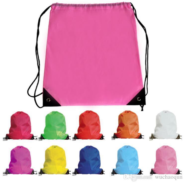 6758d470a5e Kids  Clothes Shoes Bag School Drawstring Frozen Sport Gym PE Dance ...