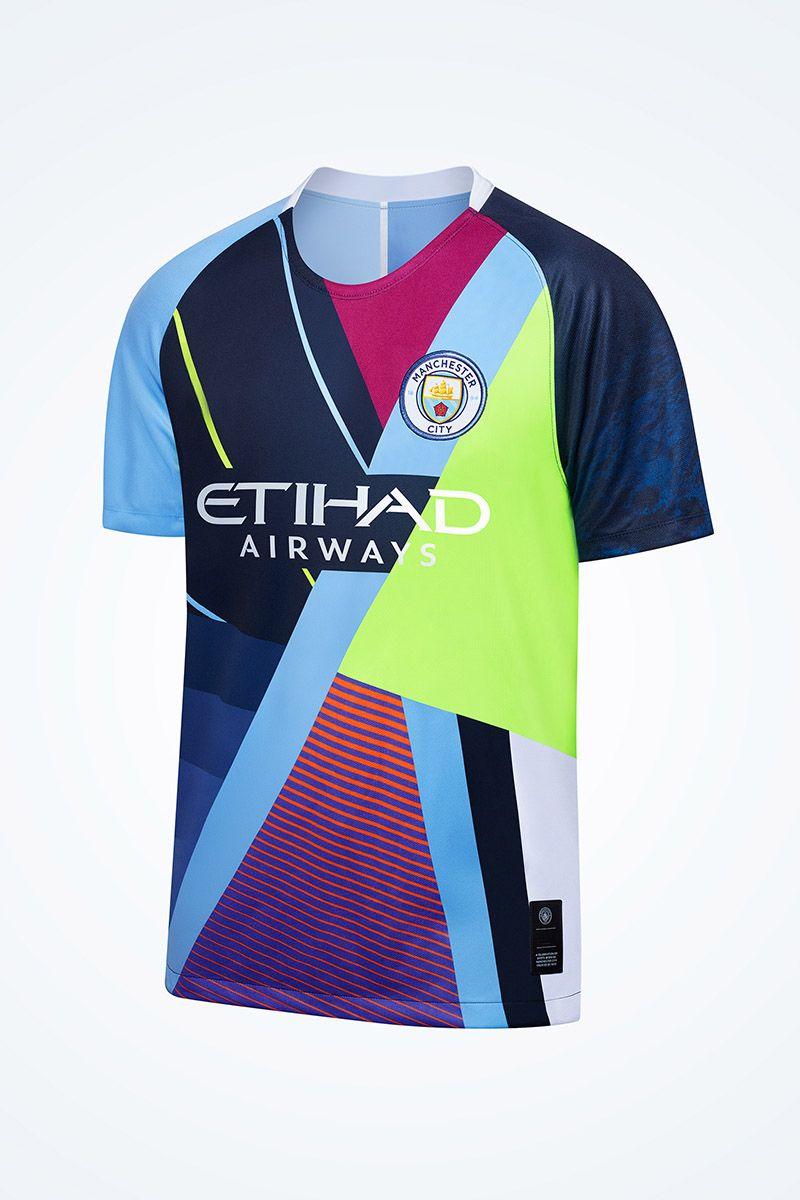 on sale 5dbd0 39365 Manchester2018/19/De Bruyne MAHREZ JESUS MENDY soccer jersey/KUN AGUERO  city football shirt BERNARDO SILVA Camiseta uniforms third