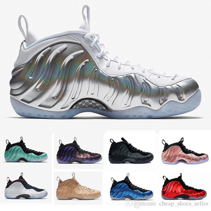detailed look b8d3d 57537 2019 2019 New Penny Hardaway Mens Basketball Shoes For Men Alternate Galaxy  Legion Green Air Eggplant Maroon Foams Athletic Sport Sneakers US7 13 From  ...