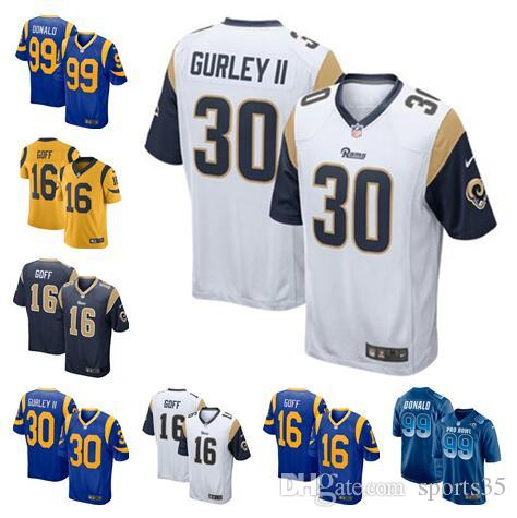 866d0813d Todd Gurley II Rams Jersey Camo Salute To Service Jared Goff Aaron Donald  Cooper Kupp Custom American Football Jerseys Stitched T Shirt UK 2019 From  Es444