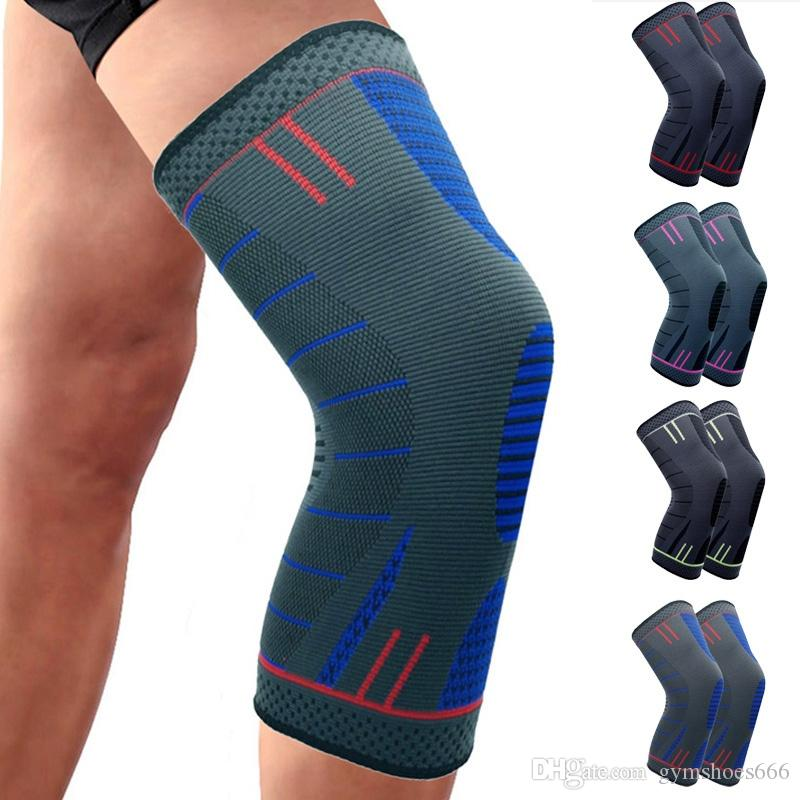 3075b26a78 Compression Knee Sleeve Support Kneepad TIMOWIN Brand Running Cycling Knee  Pads for Sports And Arthritis Injury Recovery #291929 Gold Elbow & Knee  Pads ...