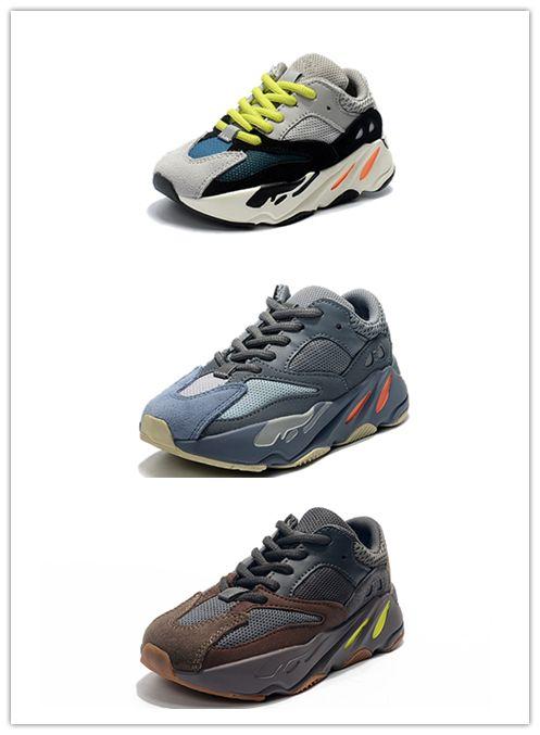 Wave Para Zapatillas Deportivas Jóvenes Niños Runner Deporte De Calzado Sply Kanye West 700 TF3lK1cJ