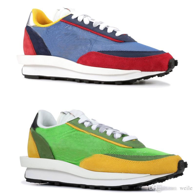 623f539274 2019 2019 New Sacai LDV Waffle Daybreak Trainers Shoes For Men Women ...