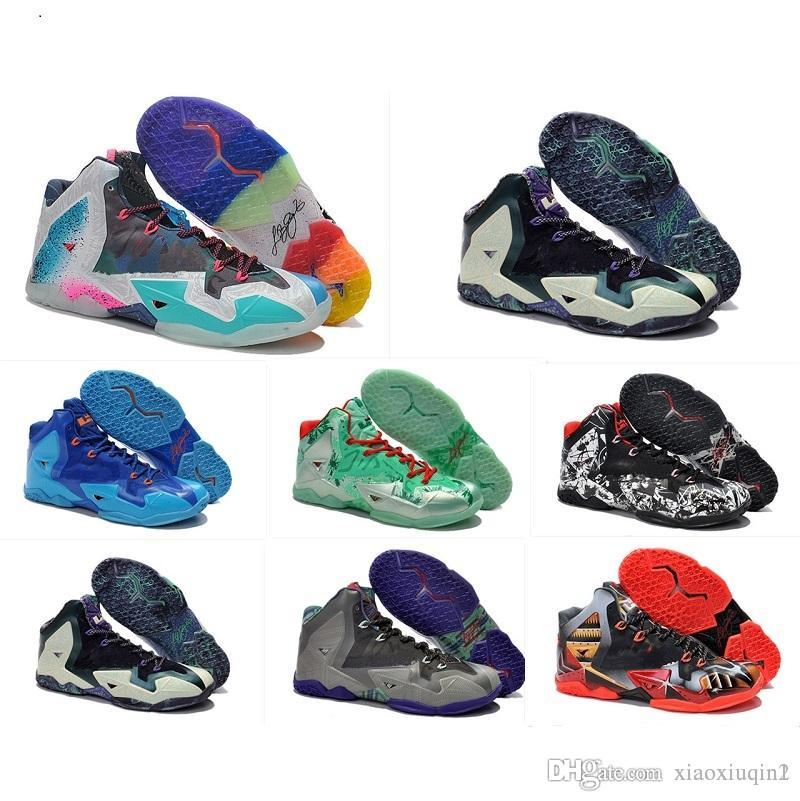 05e11ed12ad188 2019 What The Lebron 11 XI Mens Basketball Shoes For Sale Lebrons MVP  Christmas BHM Oreo Youth Kids Generation Sneakers Boots With Original Box  From ...