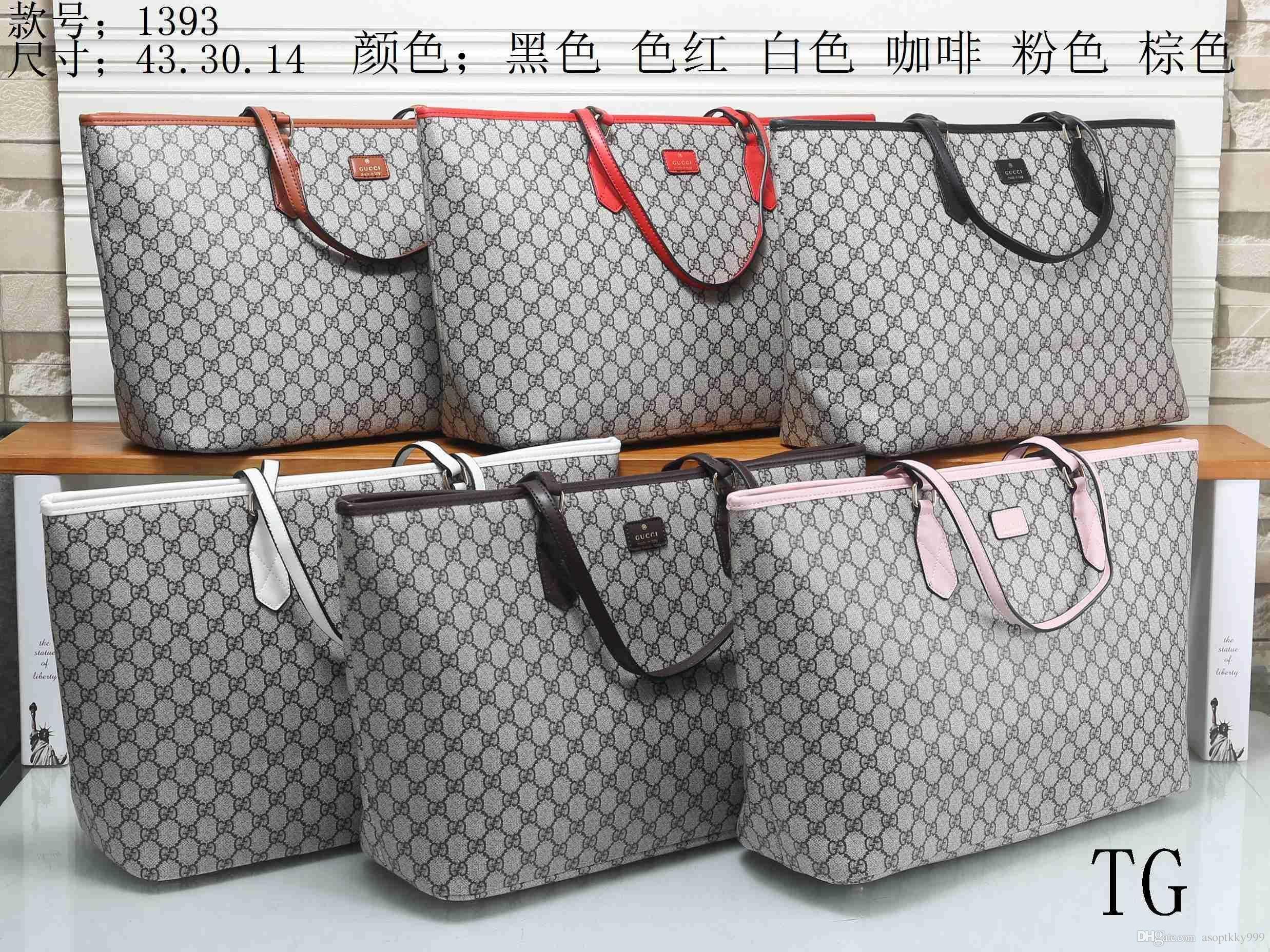 c197e125cb11 2019 2018 NEW Styles Fashion Bags Ladies Handbags Designer Bags Women Tote  Bag Luxury Brands Bags Single Shoulder Bag Backpack Wallet 1393 From  Linjie8188