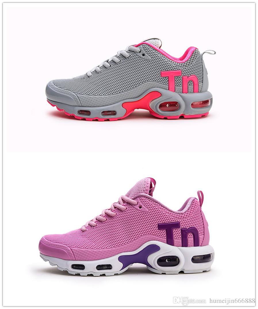 Nike tn plus air max airmax tns Promoción 2019 barato para mujer para hombre Mercurial Plus Tn Ultra SE Negro Blanco OrangeOlive zapatos para correr
